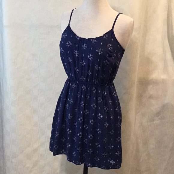 Abercrombie & Fitch Dresses & Skirts - Abercrombie & Fitch Blue Summer Dress